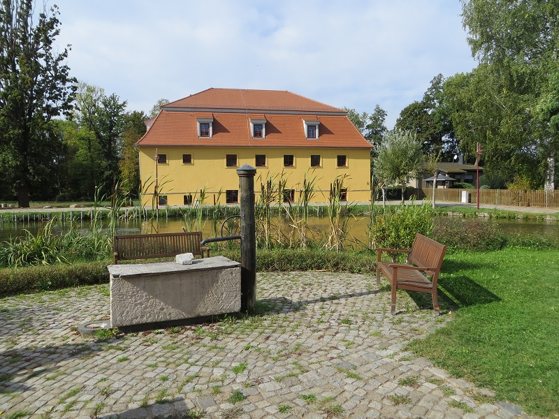 Alte Mälzerei im Rittergut Treben
